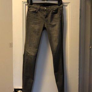 J Brand gray skinny jeans size 26